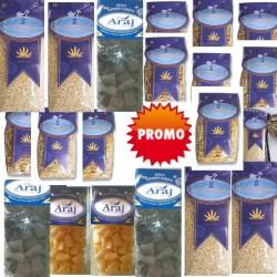 Pasta Araj vari formati- cartone promo