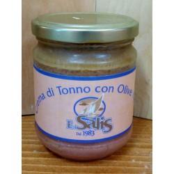 Patè di Tonno con Olive Nere