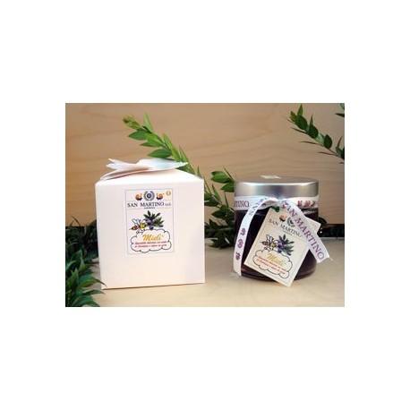 Mielì Specialità dolciaria preparata con miele di Sardegna e infuso di mirto